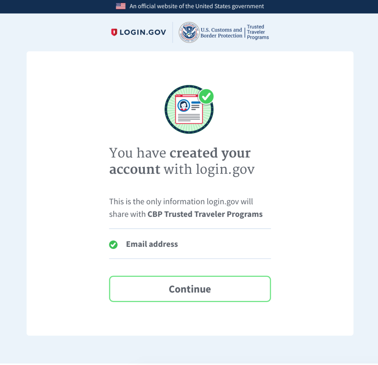 login gov | I'm trying to sign in, but it doesn't work / I'm trying